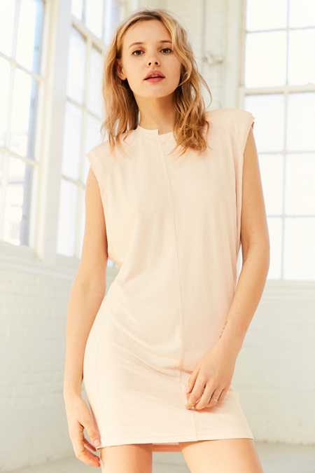 Silence + Noise Izzy Direction Ribbed Tunic Top