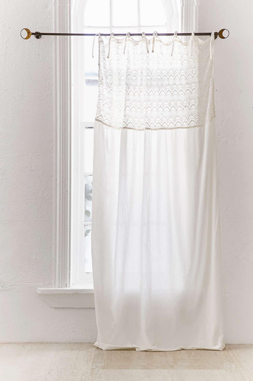 Slide View: 2: Amata Lace Window Curtain