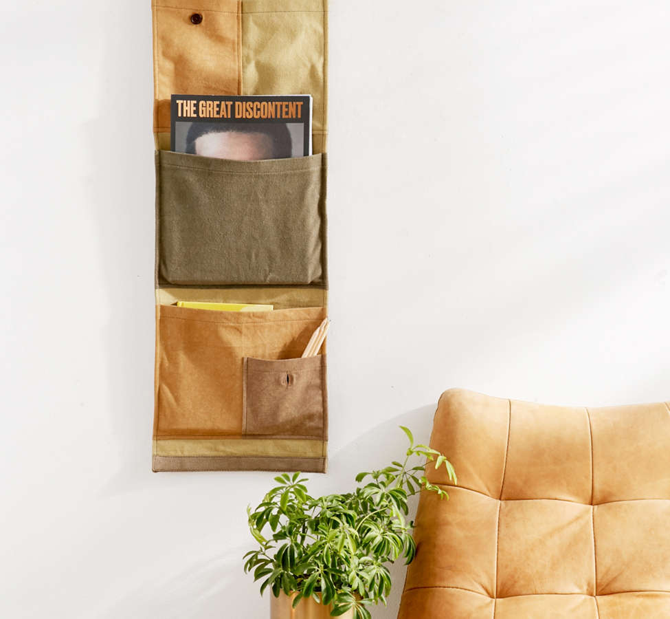 Slide View: 2: Surplus Patched Wall Storage Pocket