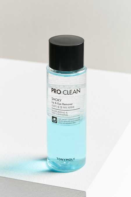 TONYMOLY Pro Clean Smoky Lip + Eye Makeup Remover