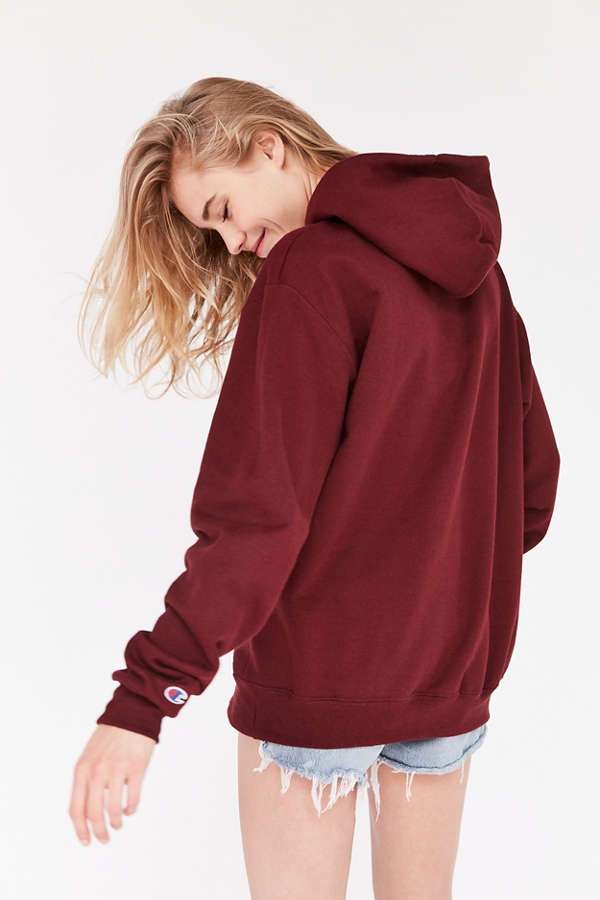 Champion & UO Powerblend Mini Logo Hoodie Sweatshirt | Urban ...