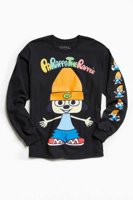 Parappa The Rapper Long Sleeve Tee