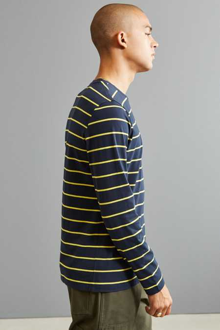 Slide View: 2: Nautica Striped Long Sleeve Tee