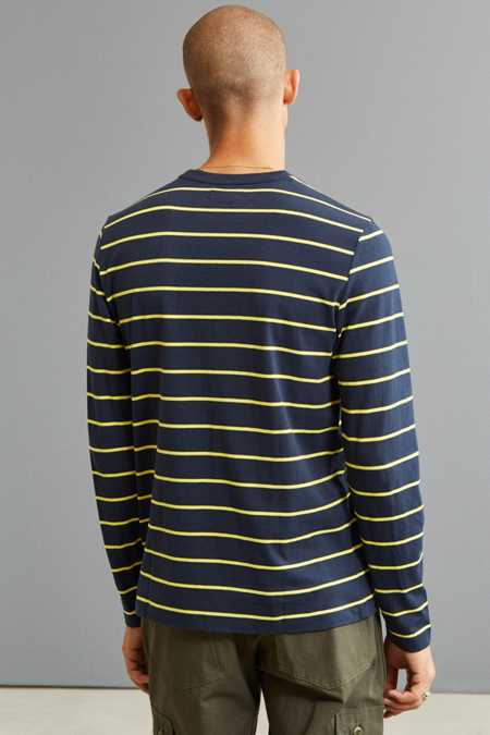 Slide View: 4: Nautica Striped Long Sleeve Tee