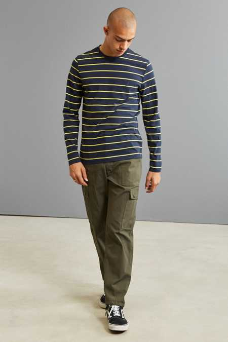 Slide View: 6: Nautica Striped Long Sleeve Tee