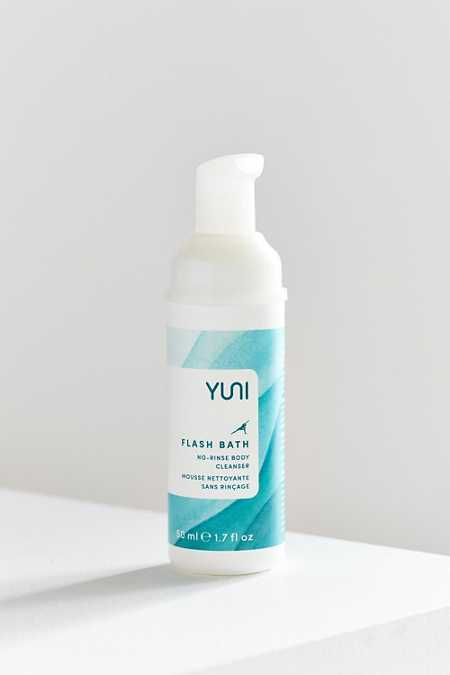YUNI Flash Bath No-Rinse Body Cleanser