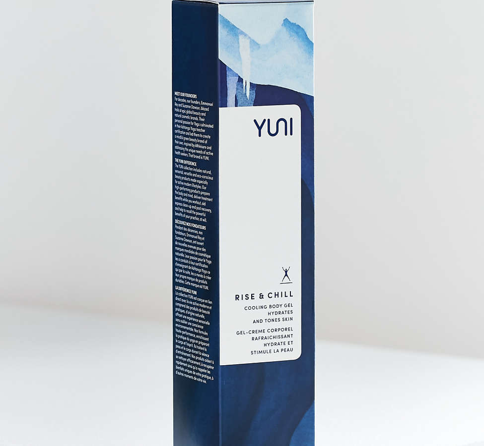 Slide View: 2: YUNI Rise + Chill Cooling Body Gel
