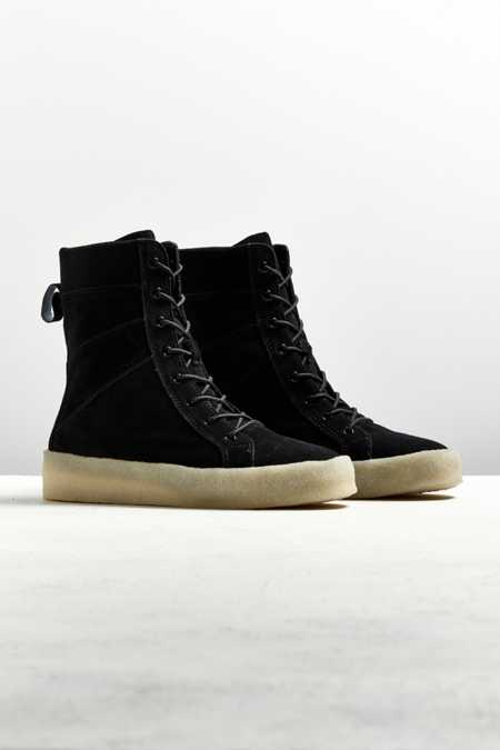 UO Stacked Crepe Sneaker Boot