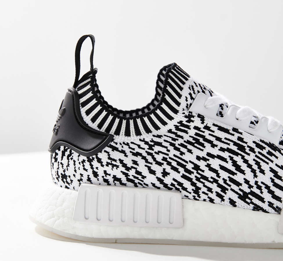 Slide View: 2: adidas NMD R1 Primeknit Core Graphic Sneaker