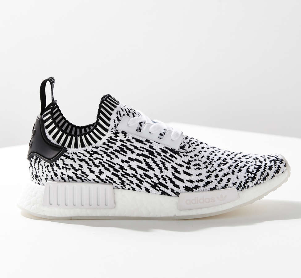 Slide View: 3: adidas NMD R1 Primeknit Core Graphic Sneaker