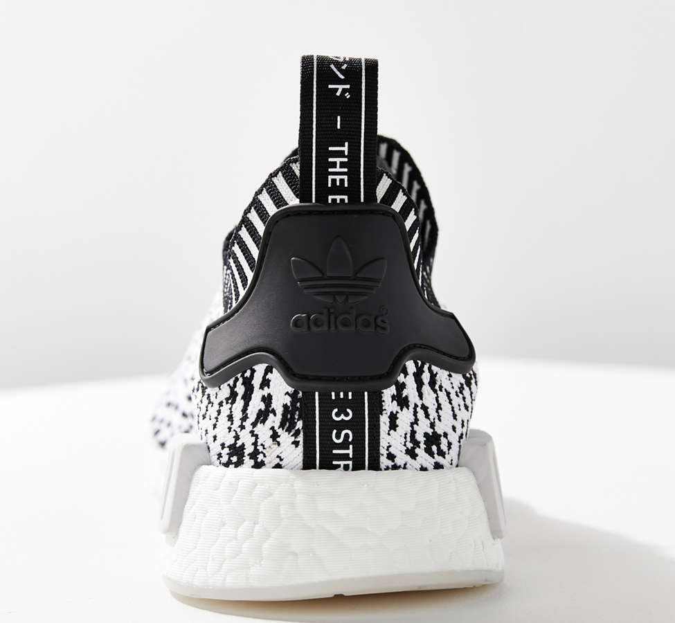 Slide View: 4: adidas NMD R1 Primeknit Core Graphic Sneaker