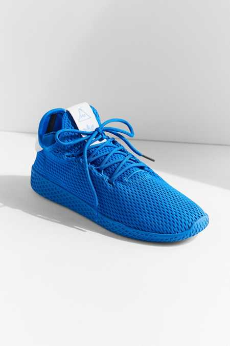 adidas Originals X Pharrell Williams Blue Tennis Hu Primary Sneaker