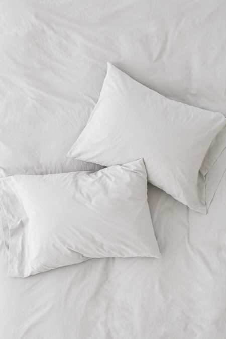 Slide View: 2: Washed Cotton Pillowcase Set
