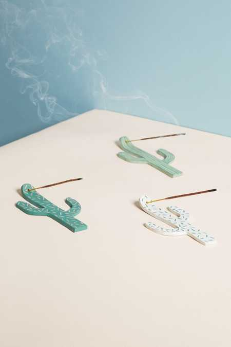 Jarmel By Jarmel Cactus Incense Holder