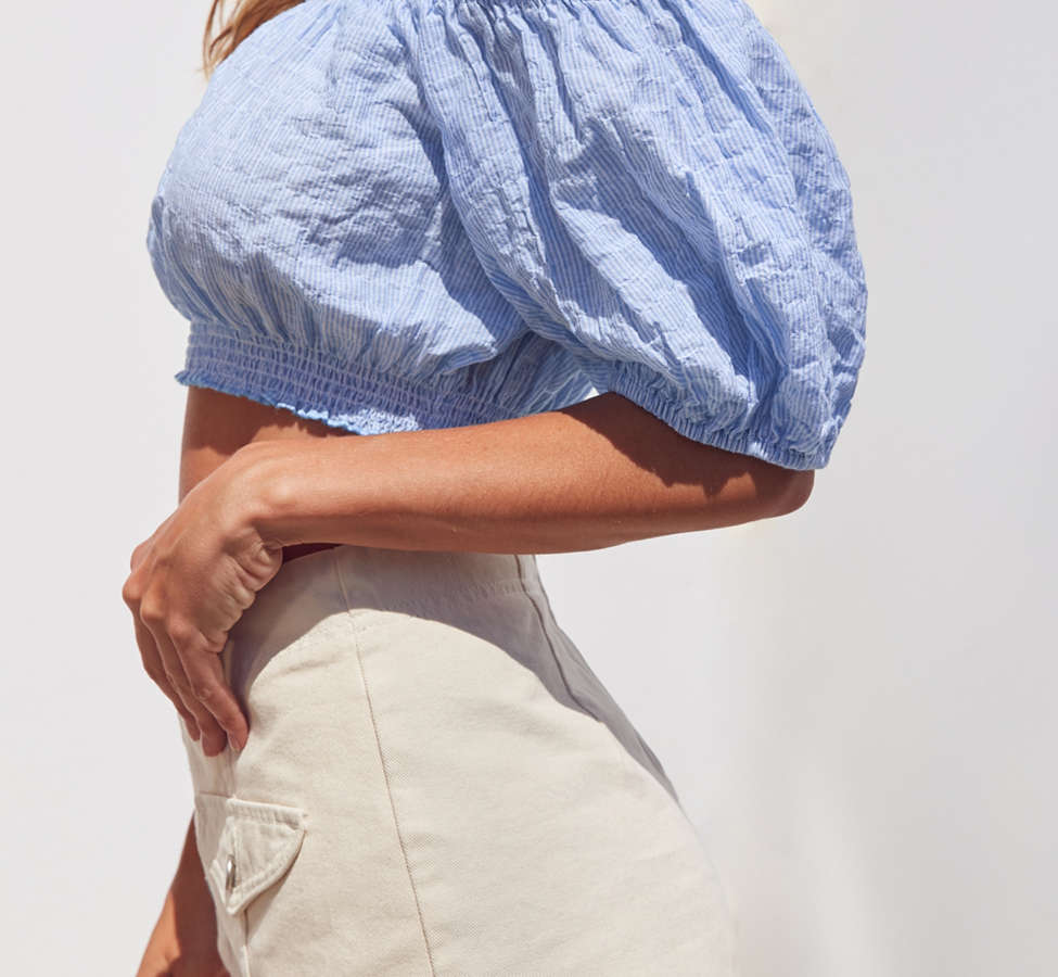 Slide View: 3: Kimchi Blue Bee Bee Off-The-Shoulder Blouse