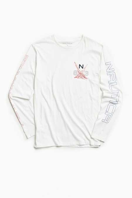 Nautica Performance Long Sleeve Tee
