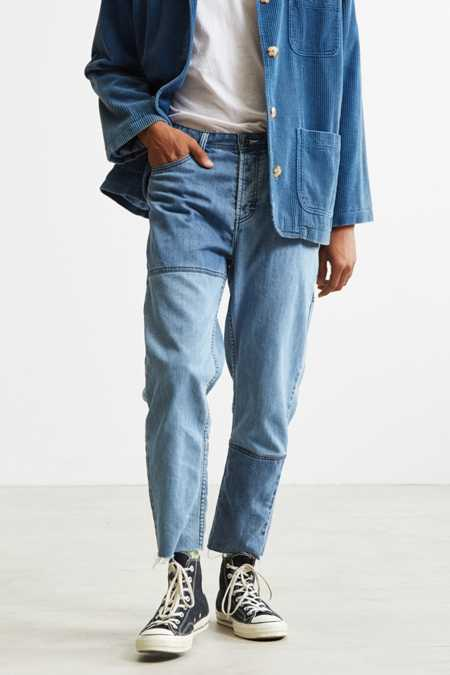 Barney Cools Indigo Relaxed Cropped Jean