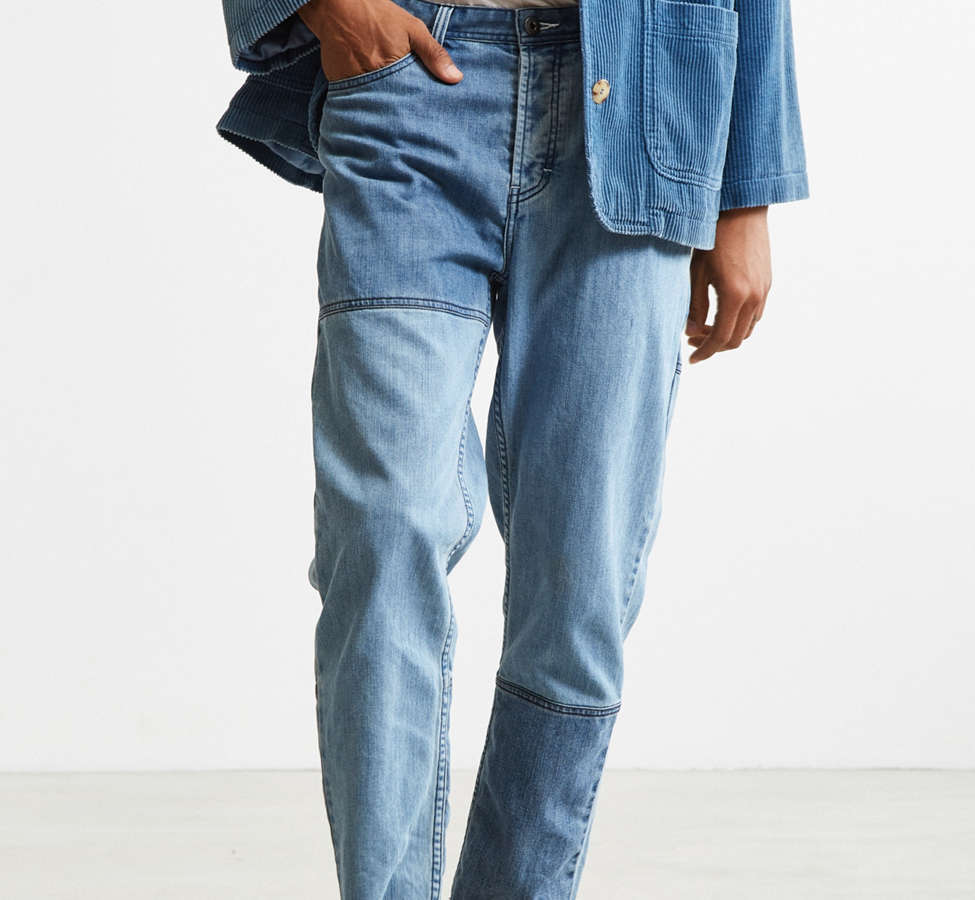 Slide View: 1: Barney Cools Indigo Relaxed Cropped Jean