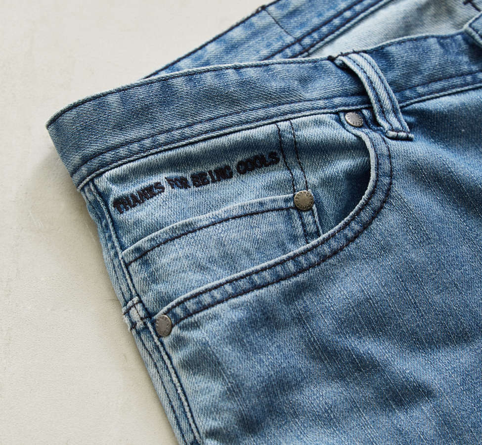 Slide View: 2: Barney Cools Indigo Relaxed Cropped Jean