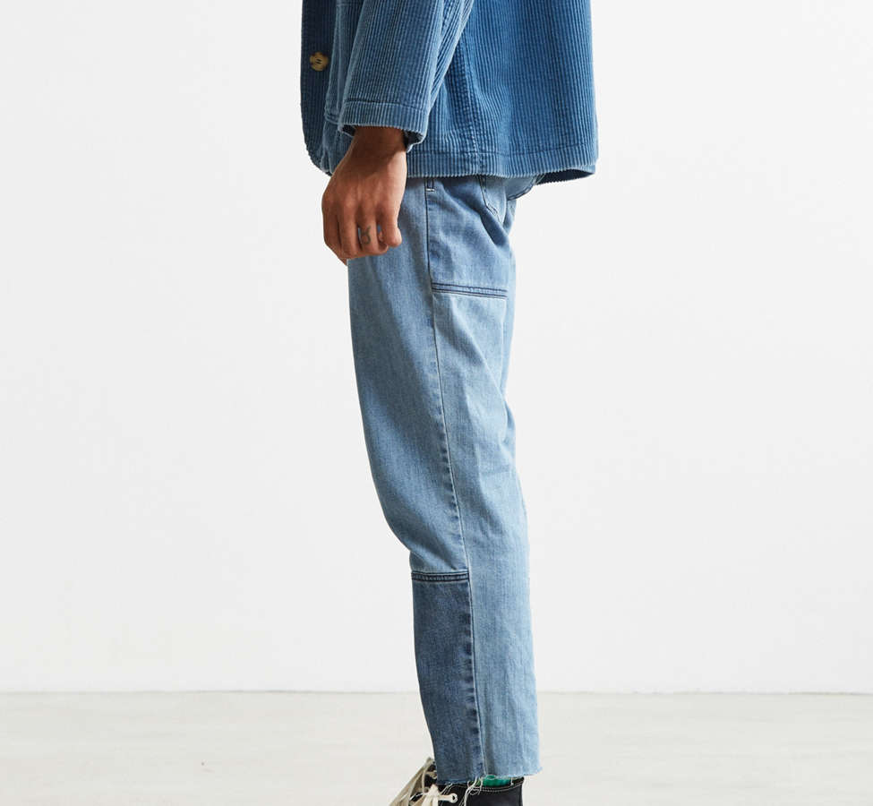 Slide View: 3: Barney Cools Indigo Relaxed Cropped Jean