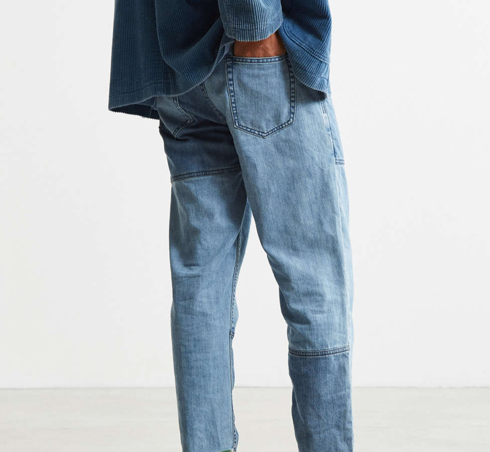 Slide View: 4: Barney Cools Indigo Relaxed Cropped Jean