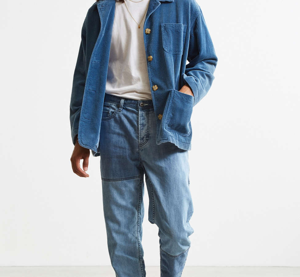 Slide View: 6: Barney Cools Indigo Relaxed Cropped Jean