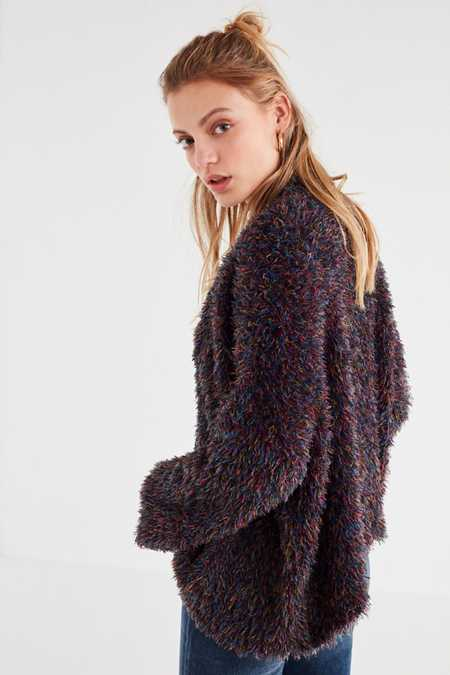 Fuzzy Sweaters   Cardigans For Women   Urban Outfitters Canada