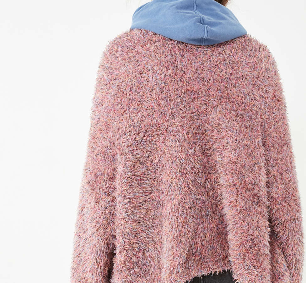 Slide View: 3: Pins And Needles Fluffy Oversized Cardigan