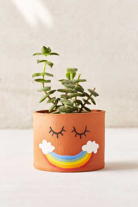 Jarmel By Jarmel Smile Rainbow Planter