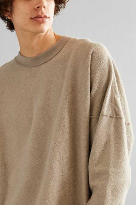 UO Frank Fleece Crew Neck Sweatshirt