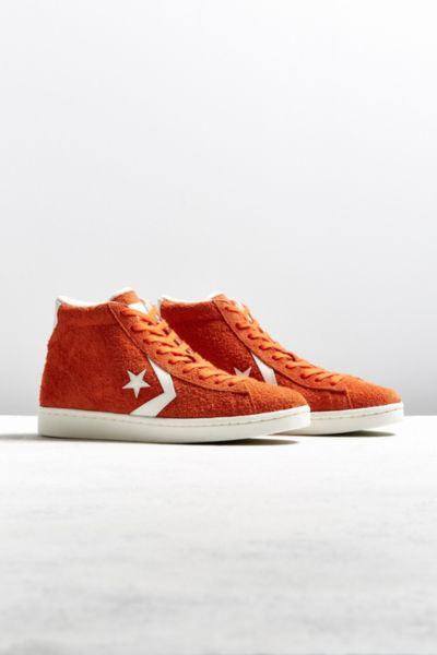 Converse Pro Suede '76 High Top Sneaker - Red 9 at Urban Outfitters
