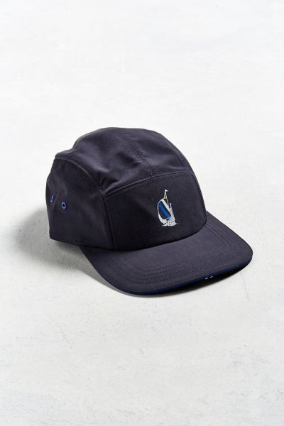 Nautica 5-Panel Hat - Navy One Size at Urban Outfitters