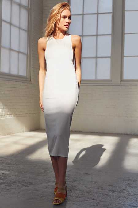Silence + Noise Tiara Midi Tank Dress