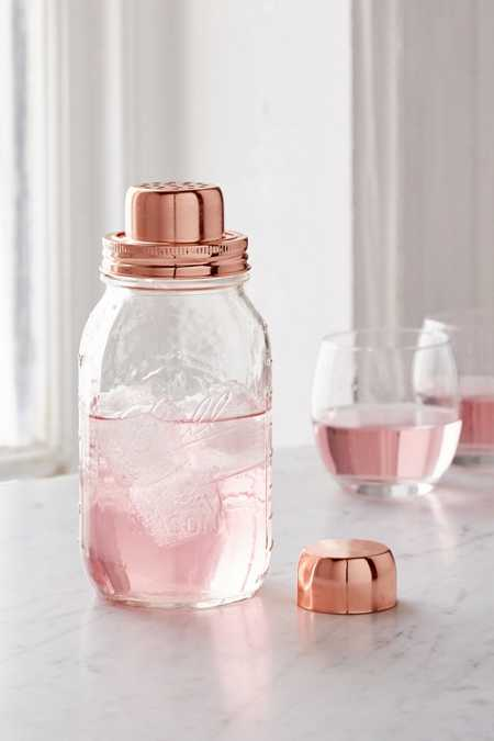 W&P Design Mason Jar Cocktail Shaker