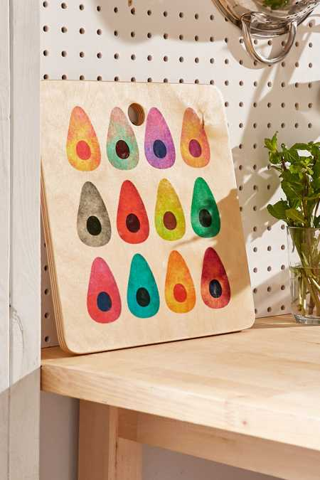 Elisabeth Fredriksson for DENY Rainbow Avocado Cutting Board