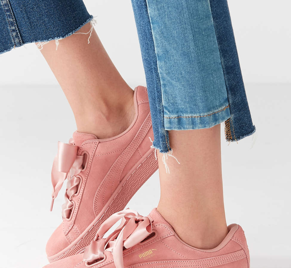 Slide View: 3: Sneaker Suede Heart Satin II Puma