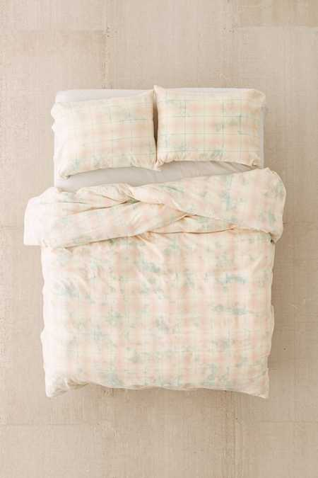 Overdyed Flannel Duvet Cover