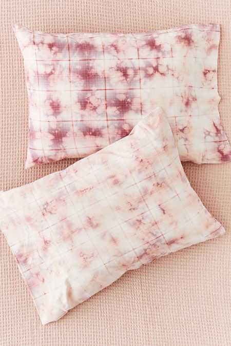 Overdyed Flannel Pillowcase Set