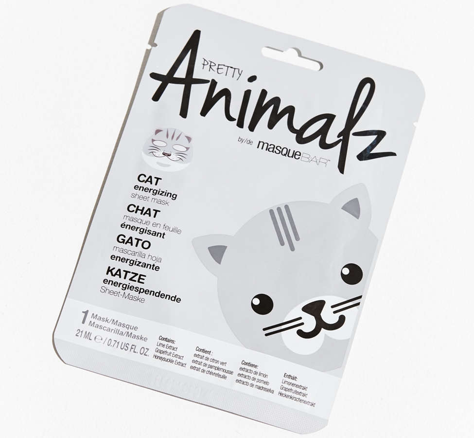 Slide View: 1: Look Beauty Pretty Animalz Sheet Mask
