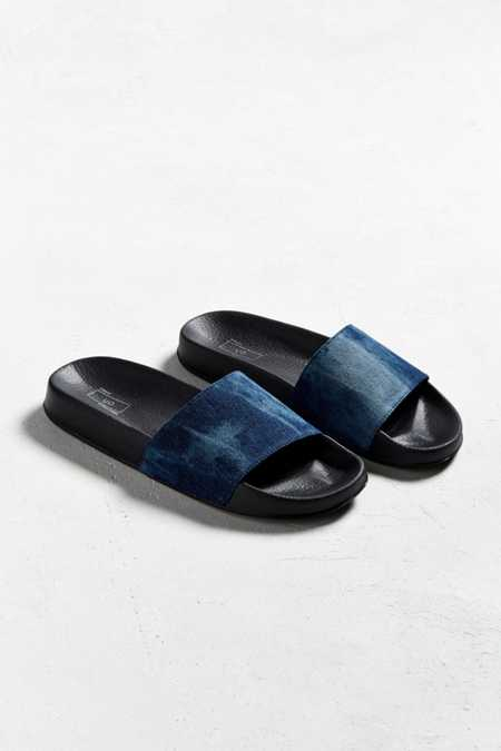 UO Denim Slide Sandal