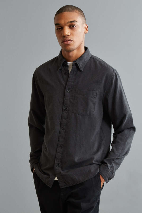 UO Cross-Dyed Stevens Button-Down Shirt | Urban Outfitters