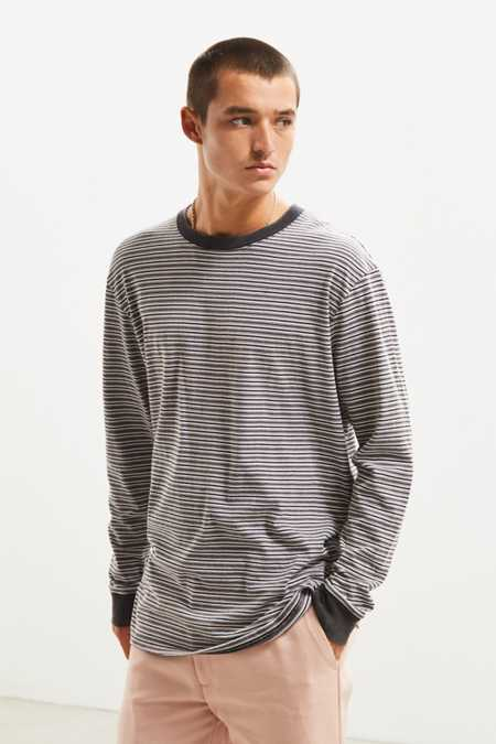 Insight Unplugged Stripe Long Sleeve Tee