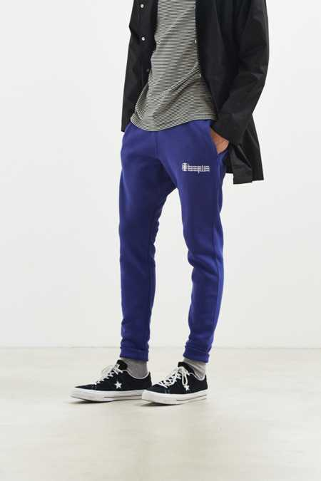 Champion & UO Reverse Weave Fleece Triple Script Jogger Pant