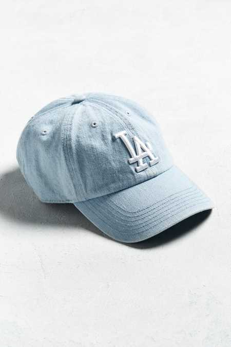 '47 Brand Los Angeles Dodgers Denim Baseball Hat