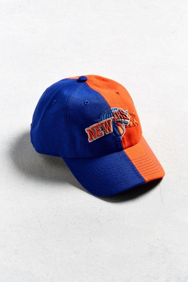 47 Brand Split New York Knicks Baseball Hat  a602afc36a5