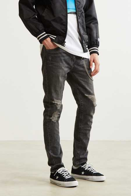 Men S Jeans Ripped Skinny Jeans Urban Outfitters