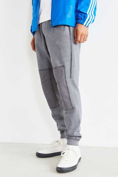 UO Clark Patched Fleece Jogger Pant