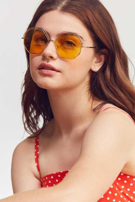 Oversized Geometric Sunglasses
