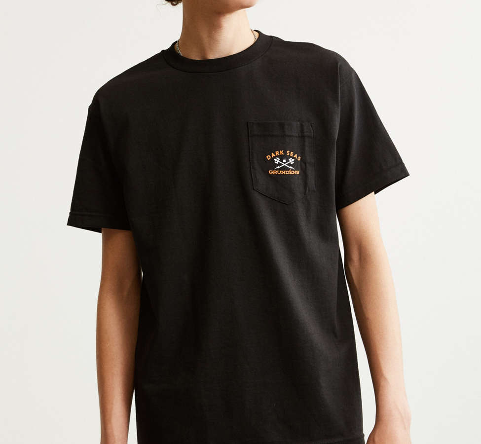 Slide View: 2: Dark Seas X Grundens Tuna Tower Pocket Tee