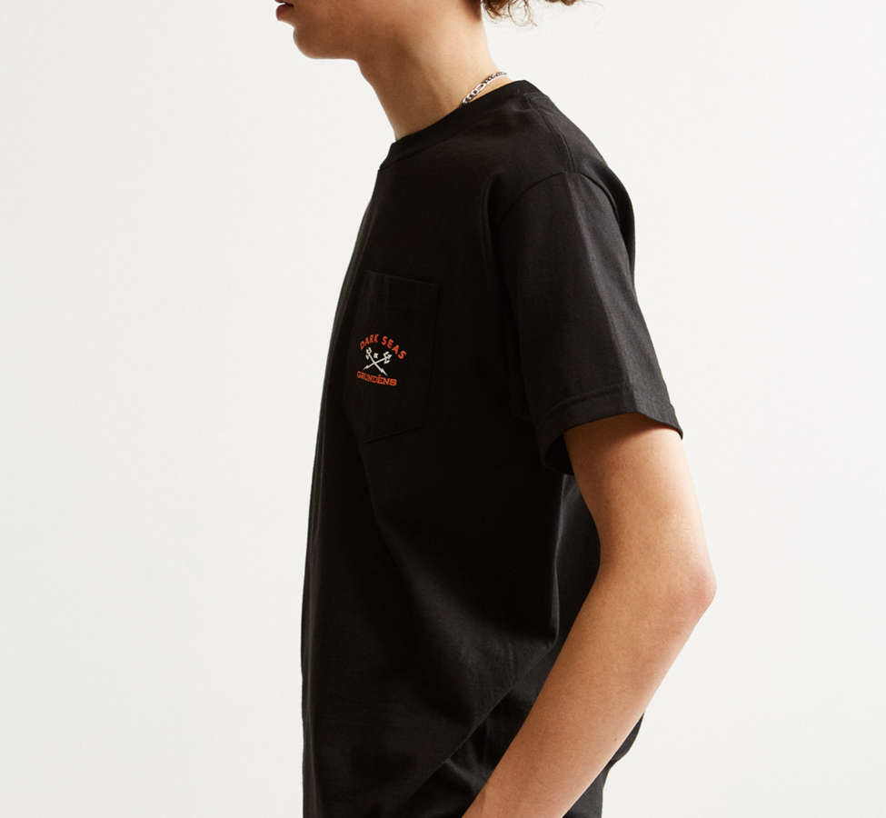 Slide View: 4: Dark Seas X Grundens Tuna Tower Pocket Tee